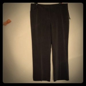 Fashion Bug Grey Stright Leg Slacks Pants Sz 18WP